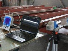 激光真直度检测